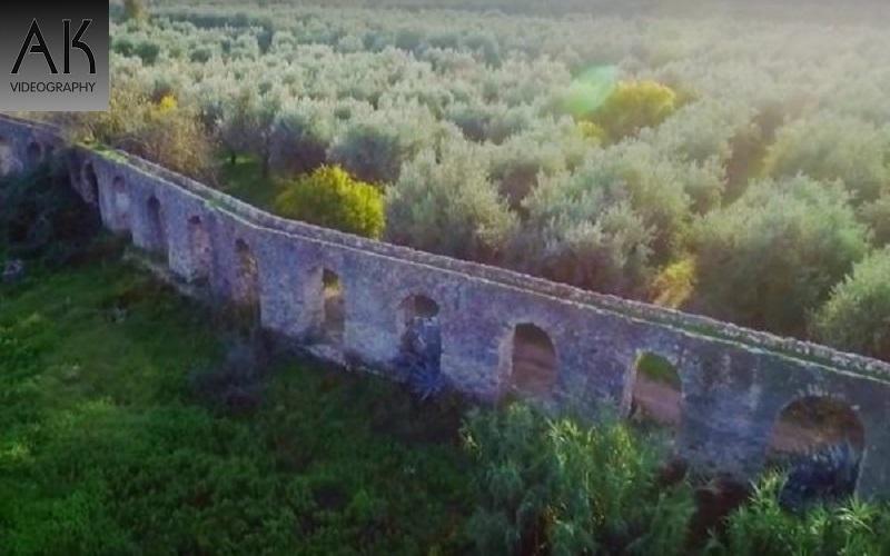 Το αρχαίο ρωμαϊκό υδραγωγείο στη Σταμνά Αιτωλοακαρνανίας