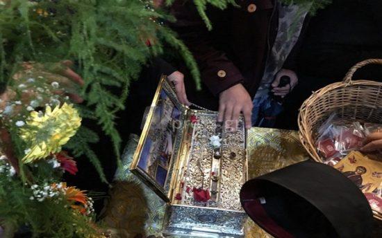 Την Τίμια Ζώνη τής Παναγίας υποδέχεται ο Γαλατας Ναυπακτίας