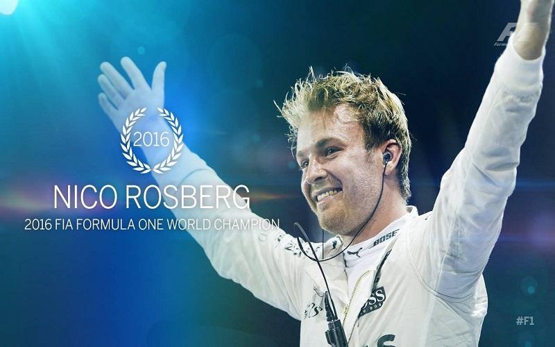 Νίκο Ρόσμπεργκ, nico rosberg, f1 championship, formula 1 2016