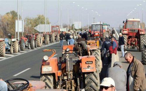 Συλλαλητήριο από την ΟΑΣ στον κόμβο της Αμφιλοχίας 17 Οκτωβρίου