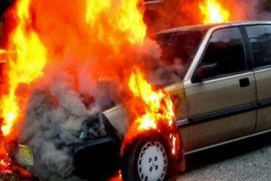 Αυτοκίνητο, φωτιά, υγραεριο, υγραεριοκίνητο Ι.Χ