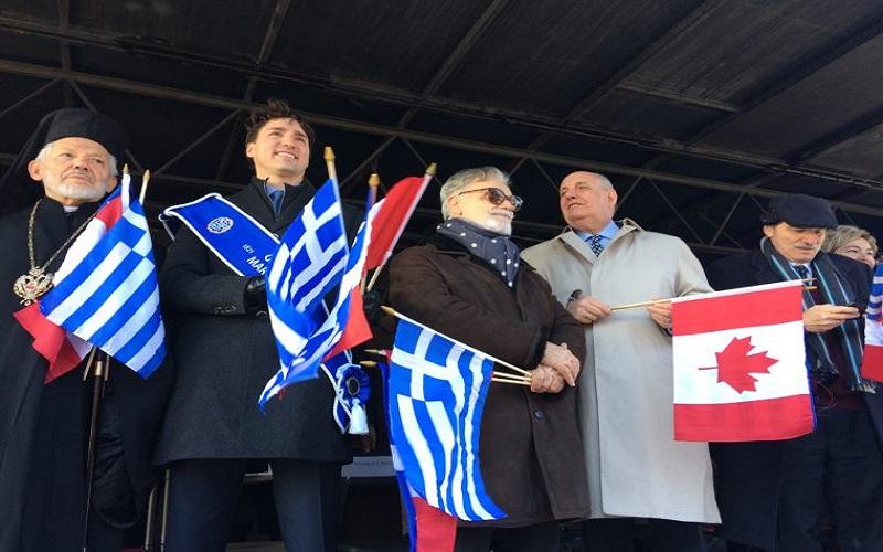 «Ζήτω η Ελλάς» φώναζε ο Τριντό στην παρέλαση των Ελλήνων…