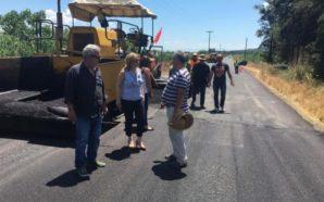 Διαγράμμιση και βελτίωση δρόμων σε όλη την Αιτωλοακαρνανία