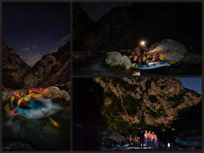 Νυχτερινό ράφτινγκ με πανσέληνο στον Άραχθο στα Τζουμέρκα