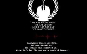 Anonymous Greece: Deface στην ιστοσελίδα της τουρκικής αστυνομίας