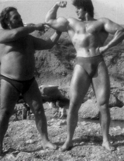 Με τον αείμνηστο Ανδρέα Λαμπράκη