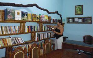 Η Δάφνη Κουμουλη στη Βιβλιοθήκη Σπάρτου