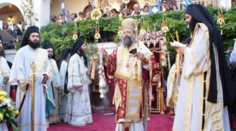 Ο Επιτάφιος Ύμνος της Υπεραγίας Θεοτόκου την Κυριακή 13 Αυγούστου