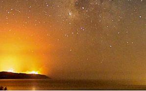 Πως φαίνονταν οι φωτιές της Ζακύνθου από την Κεφαλλονιά