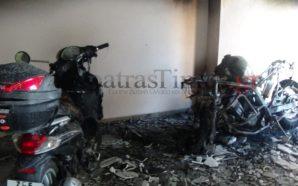 Συνελήφθη ο πυρομανής που έκαιγε μηχανές και αυτοκίνητα στην Πάτρα