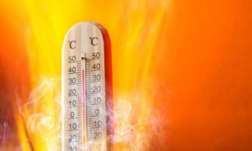 Στην Δυτική Ελλάδα οι υψηλότερες θερμοκρασίες