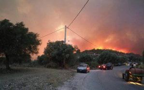 Μεγάλη φωτιά σε Αχαϊα – Αρλα, Σανταμέρι, Ελαιοχώρι