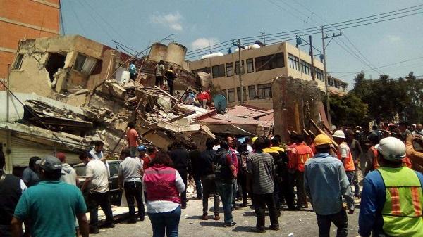 Σύμφωνα με τη σεισμολογική υπηρεσία της χώρας το επίκεντρο του σεισμού εντοπίζεται ανατολικά της πόλης του Μεξικού στην Puebla