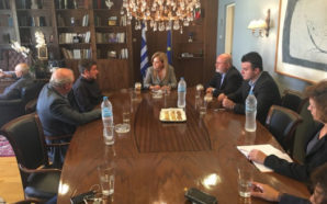 Συνάντηση Σταρακά – Καμίνη στα γραφεία της Περιφέρειας στο Μεσολόγγι