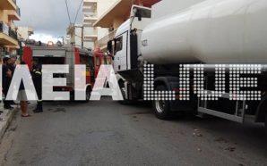 Αμαλιάδα: Φορτηγό παρέσυρε και συνέθλιψε ηλικιωμένη