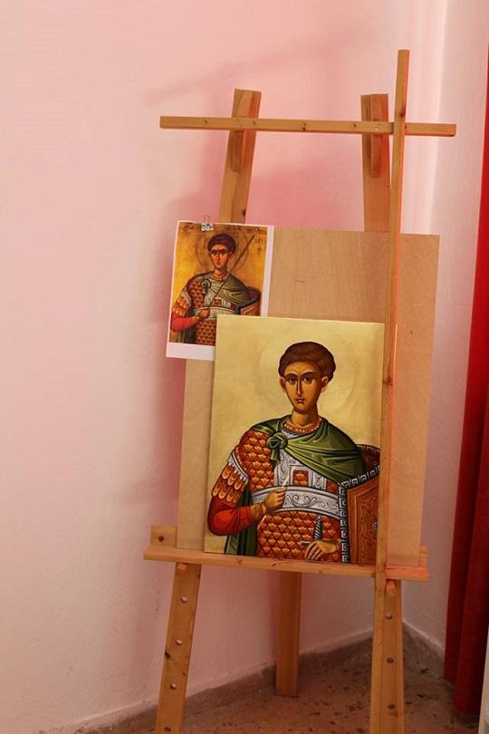 Αγιασμός και οι εγγραφές στη σχολή Αγιογραφίας της Ιεράς Μητροπόλεως στον Ι.Ν Αγίου Αθανασίου Αμφιλοχίας