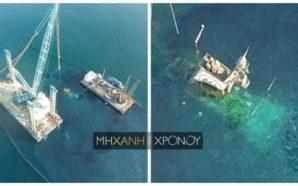 Δείτε την τεράστια επιχείρηση ανέλκυσης του μοιραίου δεξαμενόπλοιου στο Σαρωνικό…