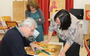 Ξεκίνησαν τα μαθήματα στην σχολή Αγιογραφίας στον Ι.Ν Αγίου Αθανασίου…