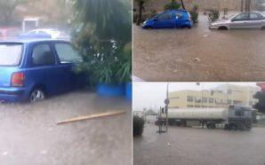 Iσχυρές καταιγίδες και χαλάζι σε πολλές περιοχές της Αττικής –…