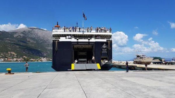Ακτοπλοϊκή σύνδεση των νησιών του Ιονίου