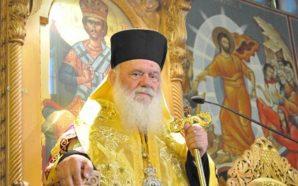 Ο Αρχιεπίσκοπος κ.κ.ΙΕΡΩΝΥΜΟΣ στις 18 Ιανουαρίου στον πολιούχο της Αμφιλοχίας…