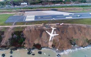Τουρκία: Αεροπλάνο γλίστρησε στον γκρεμό – Σώοι οι επιβάτες