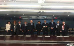 Η Ένωση Ελλήνων Εφοπλιστών επισκέφθηκε την Ουάσινγκτον για διμερείς συζητήσεις
