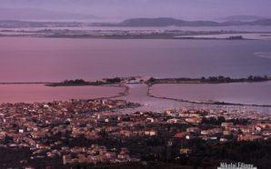 Η πόλη της Λευκάδας από ψηλά