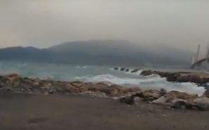 Θυελλώδεις άνεμοι στη Δυτική Ελλάδα – Κλειστή η πορθμειακή γραμμή…