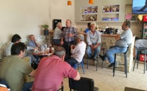 Πραγματοποιήθηκαν οι ομιλίες σε Αμφιλοχία και Τρύφο του Νίκου Μωραΐτη