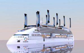 Ecoship: Στα σκαριά κρουαζιερόπλοιο με ανεμογεννήτριες και φωτοβολταϊκά πανιά