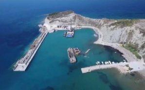 Εγκαινιάζεται το νέο λιμάνι της Ερείκουσας στην Κέρκυρα