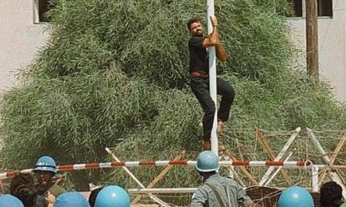 Σαν σήμερα το 1996 οι Τούρκοι δολοφόνησαν τον ήρωα Σολωμό Σολωμού στην Κύπρο
