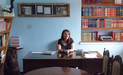 Νένα Μπούρα, Βιβλιοθήκη Σπάρτου.
